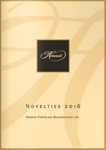 Herend Novelties 2016